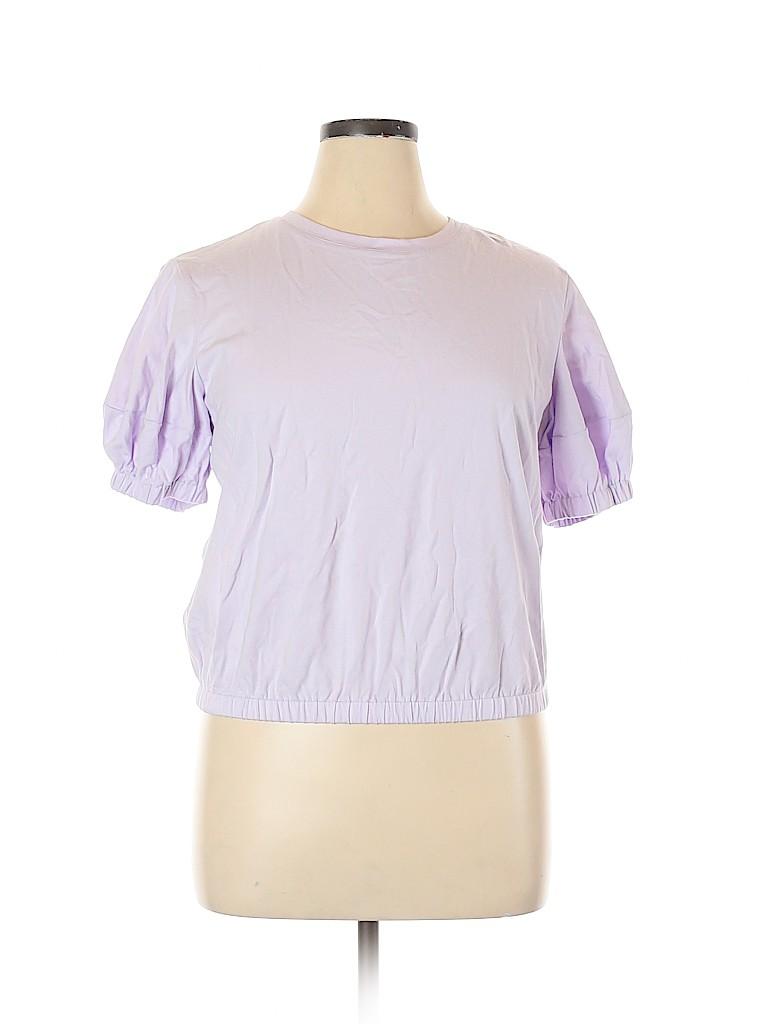 A New Day Women Short Sleeve Top Size XL