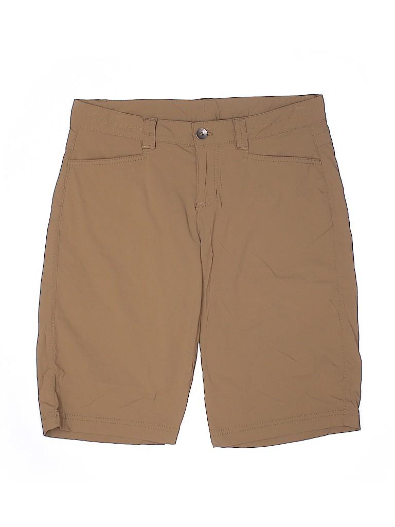 Eddie Bauer Women Khaki Shorts Size 4