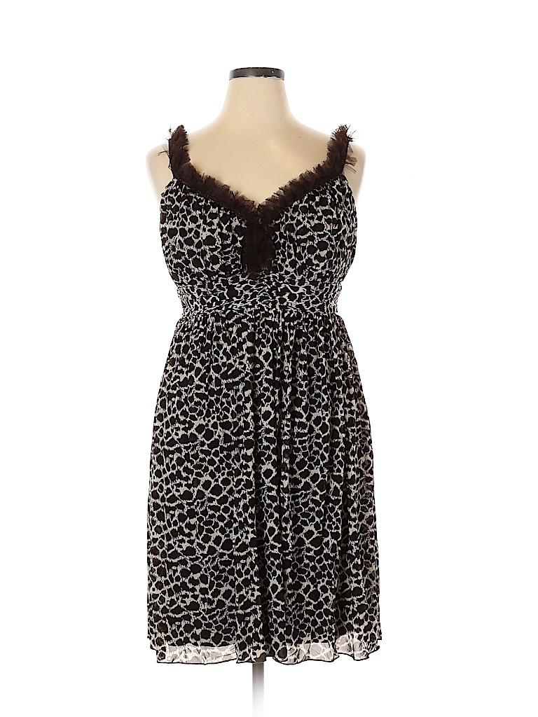Lane Bryant Women Cocktail Dress Size 14 (Plus)