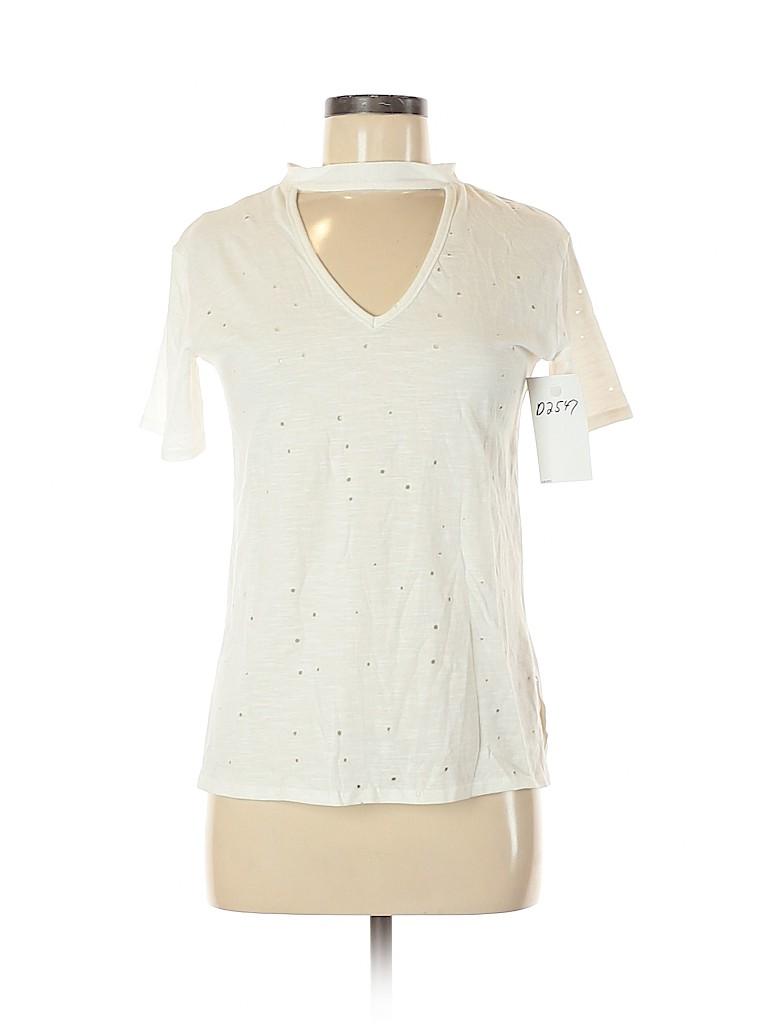 Poof! Women Short Sleeve T-Shirt Size M