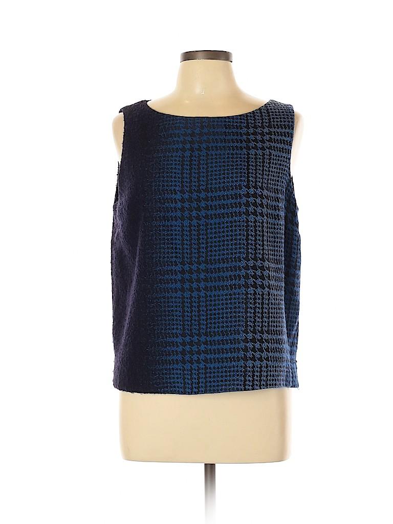 Lafayette 148 New York Women Sleeveless Blouse Size 12