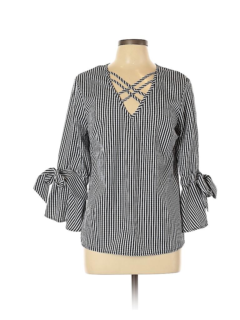 Tempted Women Long Sleeve Blouse Size L