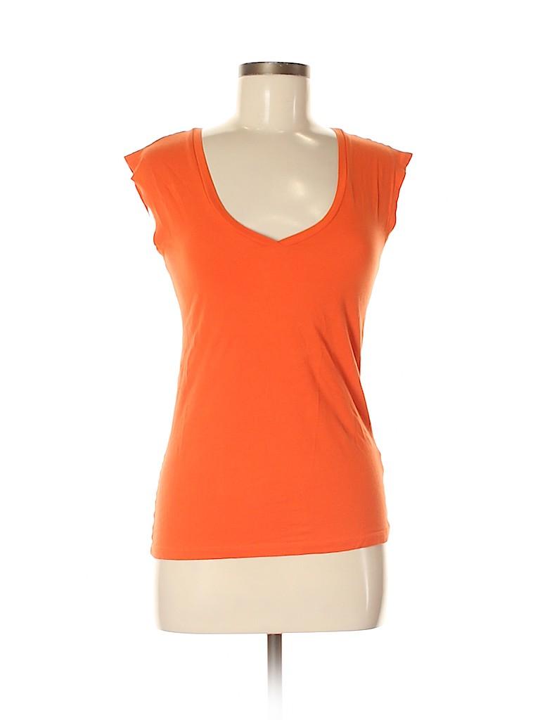 Theory Women Short Sleeve T-Shirt Size M