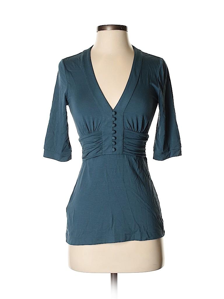 BCBGMAXAZRIA Women 3/4 Sleeve Top Size XS