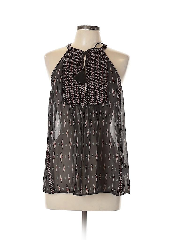 Joie Women Sleeveless Silk Top Size L