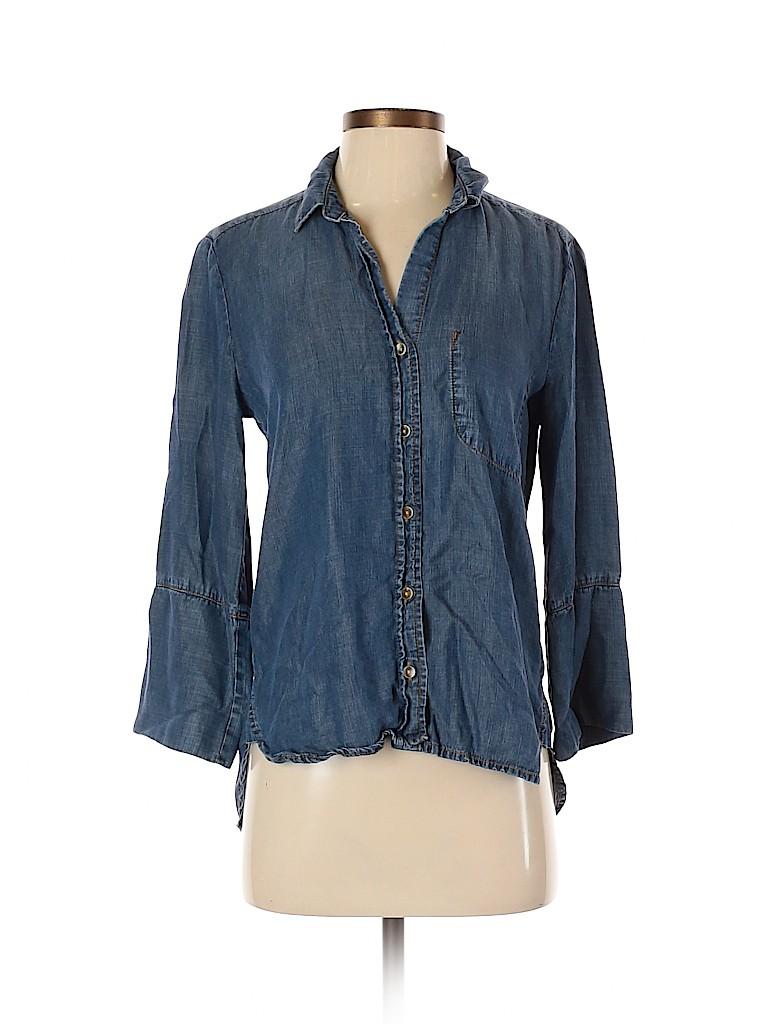 Bella Dahl Women 3/4 Sleeve Blouse Size XS