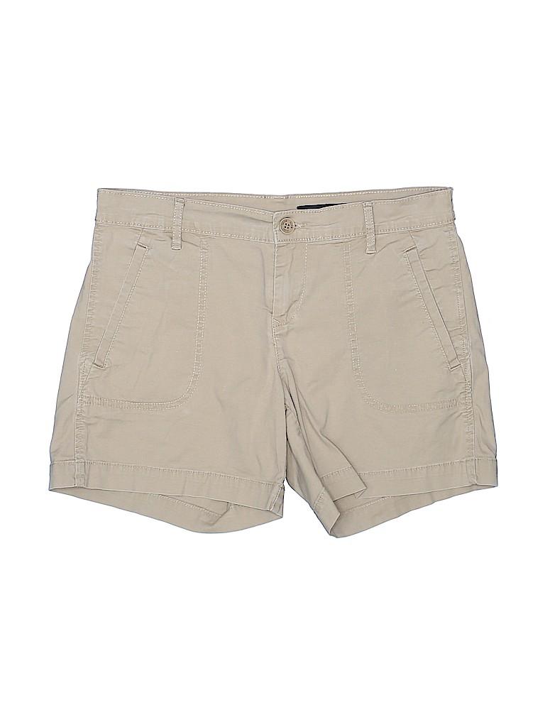 CALVIN KLEIN JEANS Women Khaki Shorts Size 4