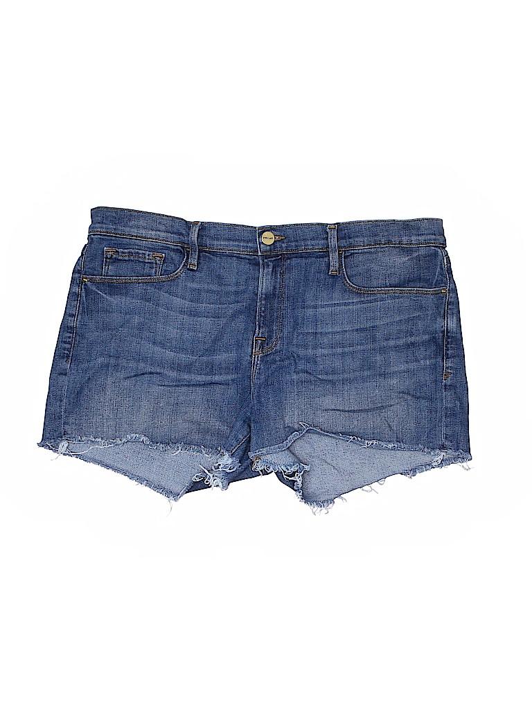 FRAME Denim Women Denim Shorts 32 Waist
