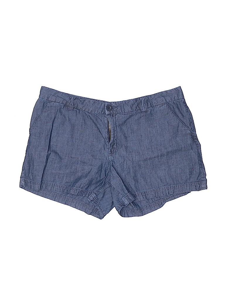 Bcg Women Khaki Shorts Size 16