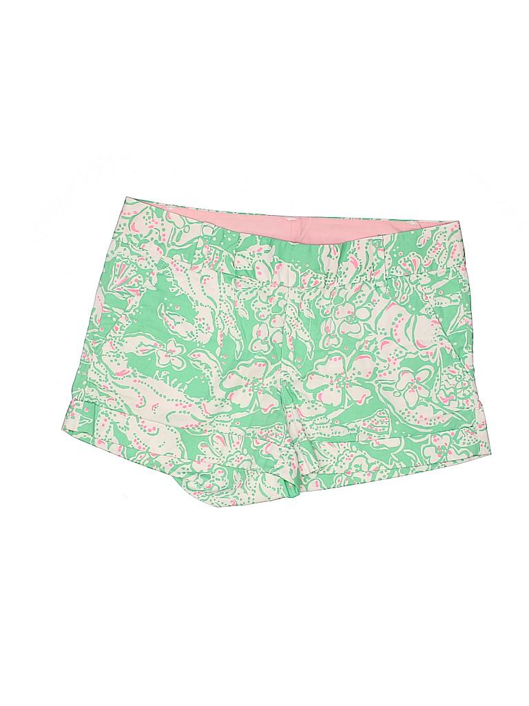 Lilly Pulitzer Women Khaki Shorts Size 6