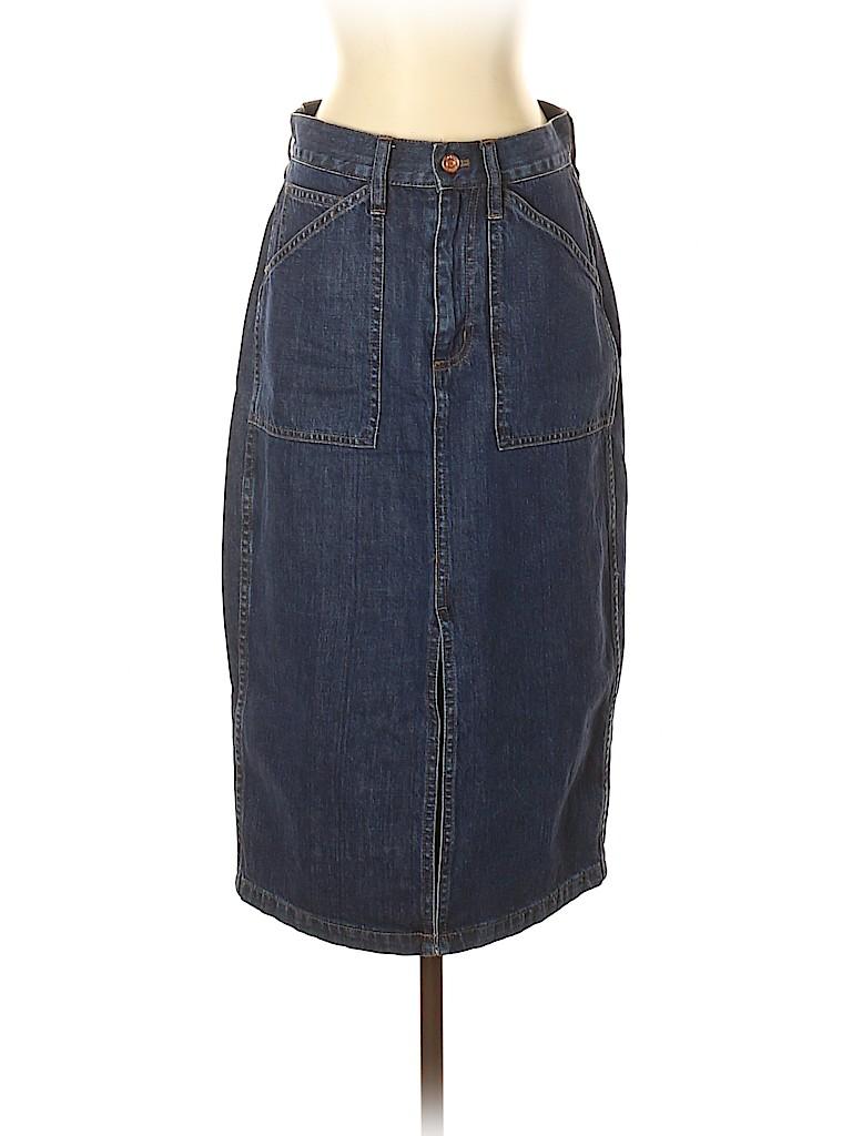 J. Crew Women Denim Skirt 27 Waist