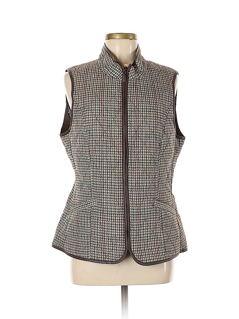 Talbots Women Vest Size M