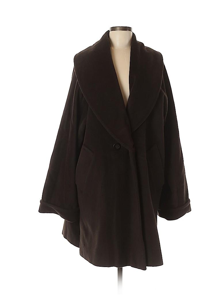 Max Mara Women Wool Coat Size 44 (IT)