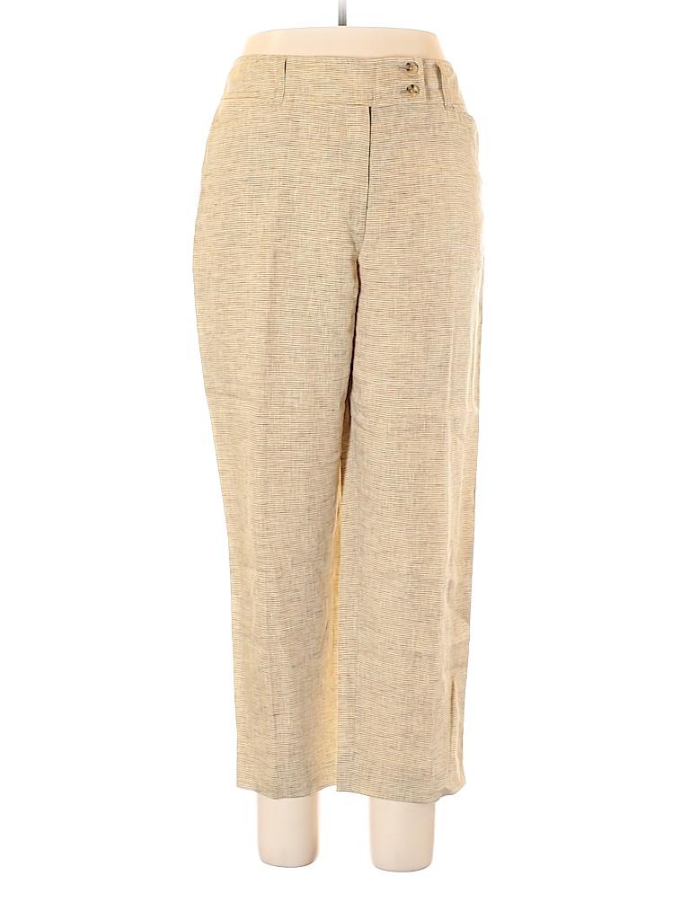 Jones New York Women Linen Pants Size 14
