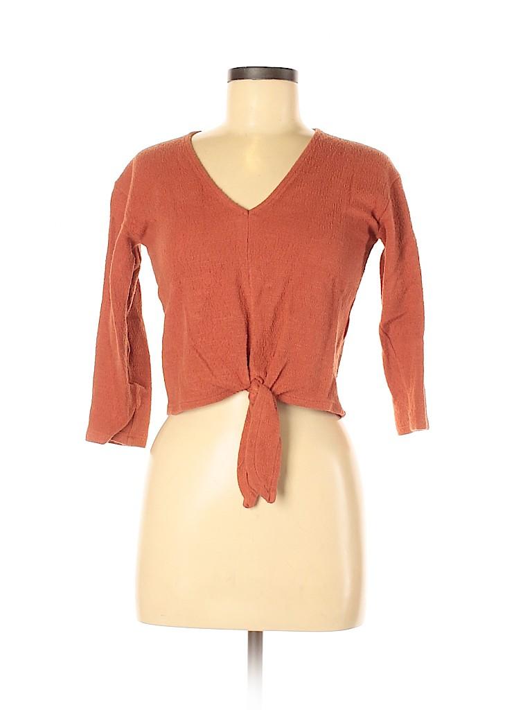 Madewell Women Long Sleeve Top Size XXS