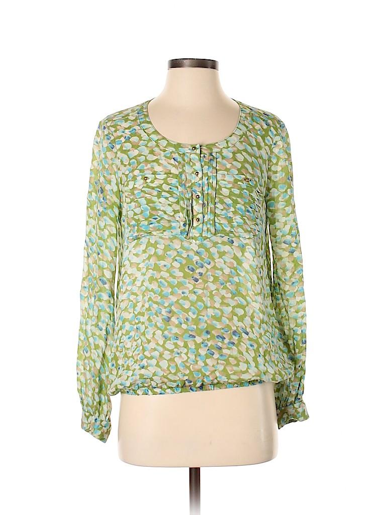 Tory Burch Women Long Sleeve Blouse Size 4
