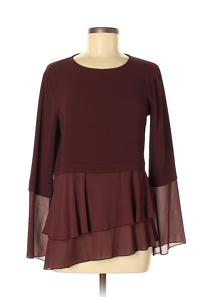 Assorted Brands Women Long Sleeve Blouse Size 44 (IT)