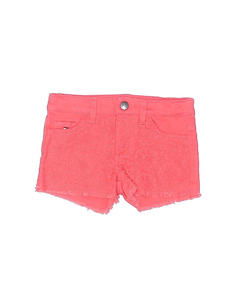 Tommy Hilfiger Girls Denim Shorts Size 2T