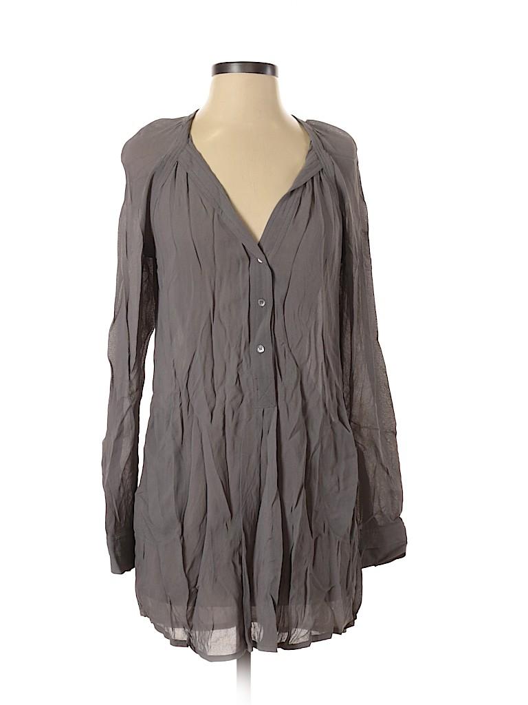 BCBGMAXAZRIA Women Long Sleeve Blouse Size XXS
