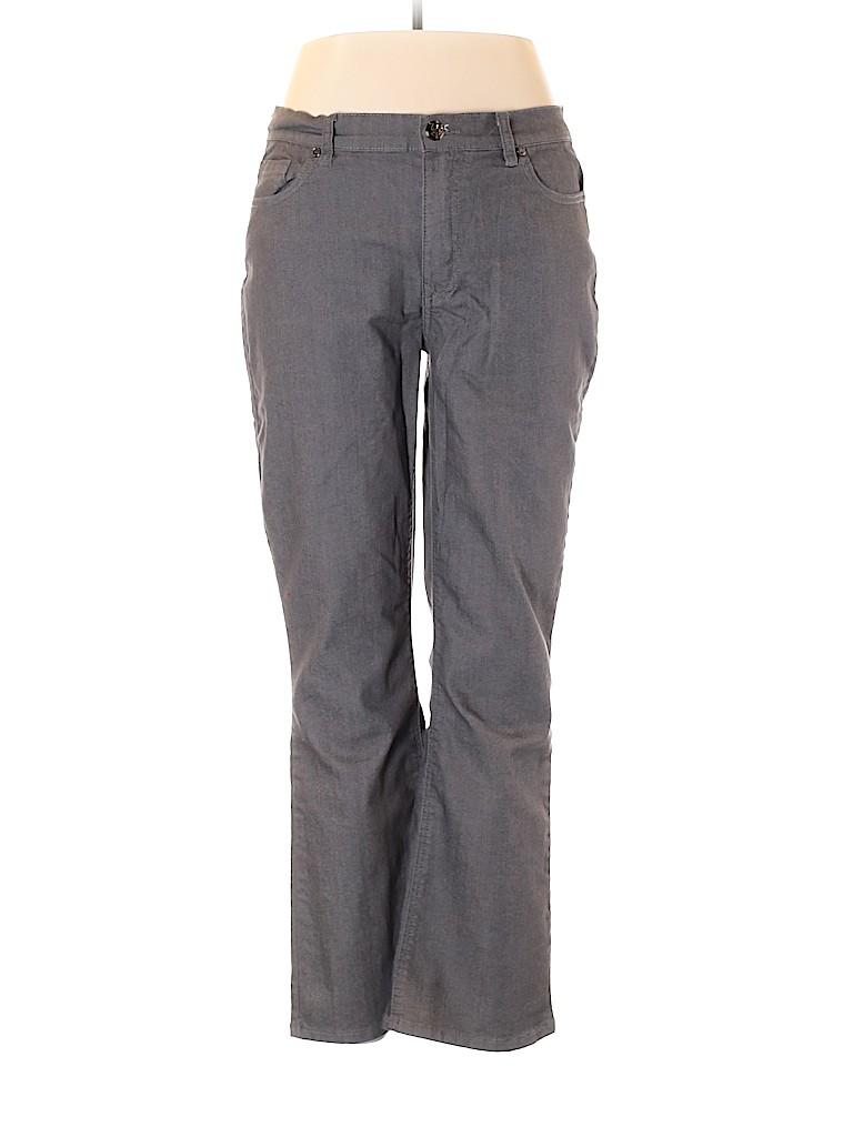 DG^2 by Diane Gilman Women Jeans Size 14 (Petite)