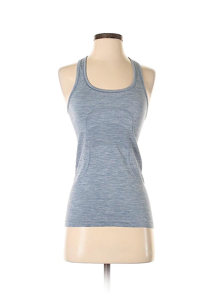 Lululemon Athletica Women Active T-Shirt Size 4