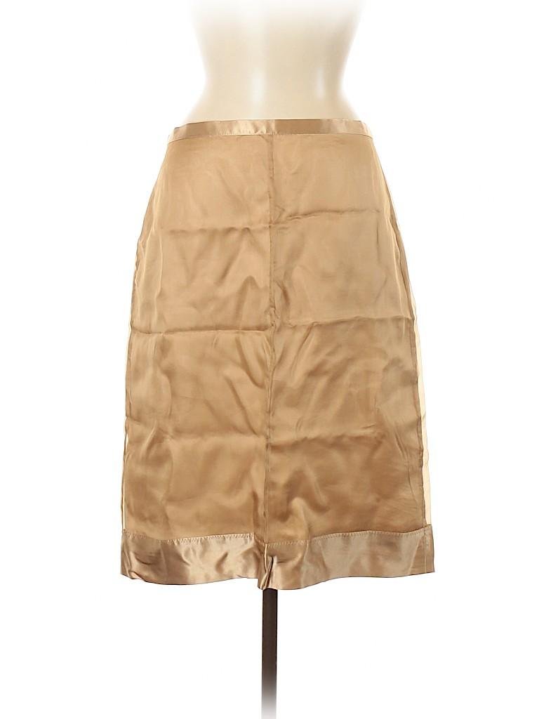 BCBGMAXAZRIA Women Silk Skirt Size 12