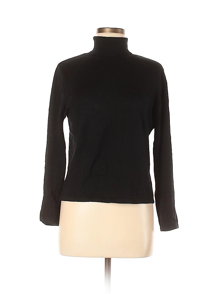 Minuet Women Silk Pullover Sweater Size 14 (UK)