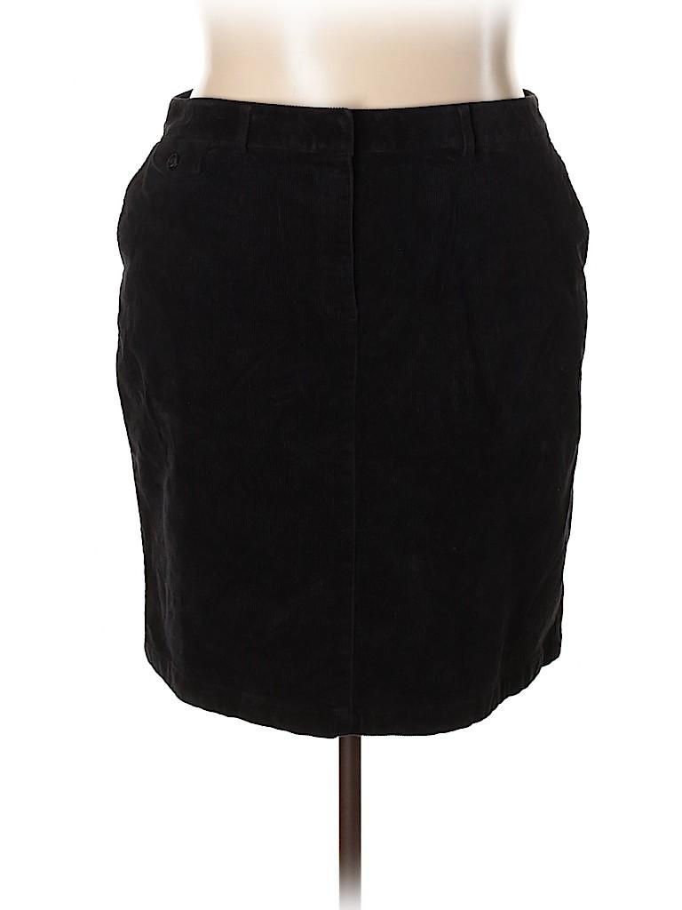 L.L.Bean Women Casual Skirt Size 20 (Plus)
