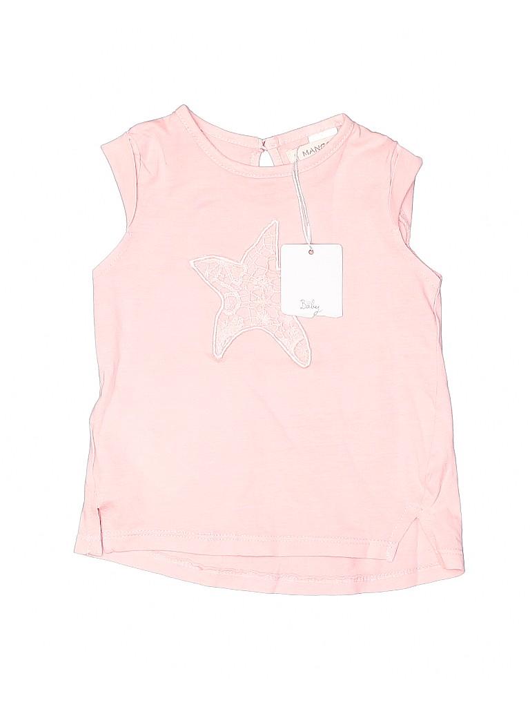 Mango Girls Sleeveless T-Shirt Size 6-9 mo