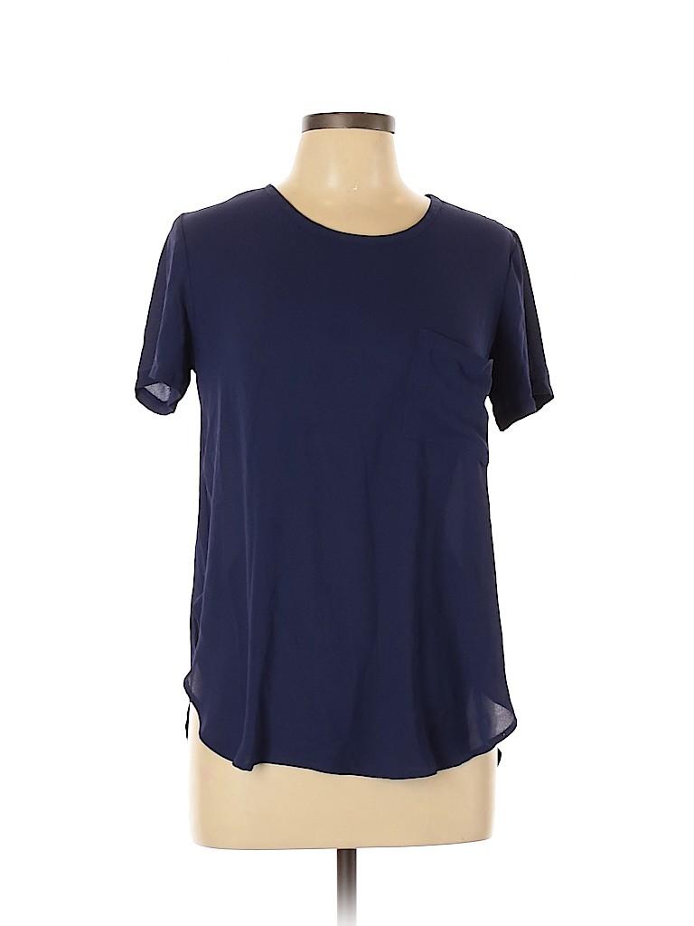 Blush Women Short Sleeve Blouse Size 11