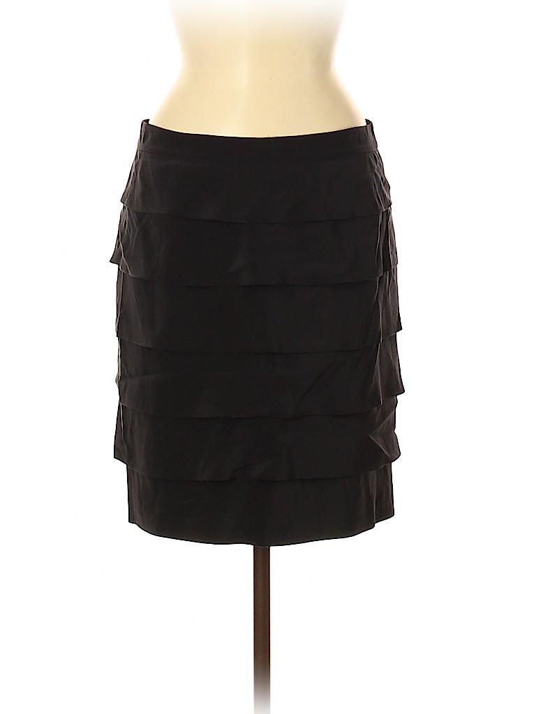 Tory Burch Women Silk Skirt Size 8