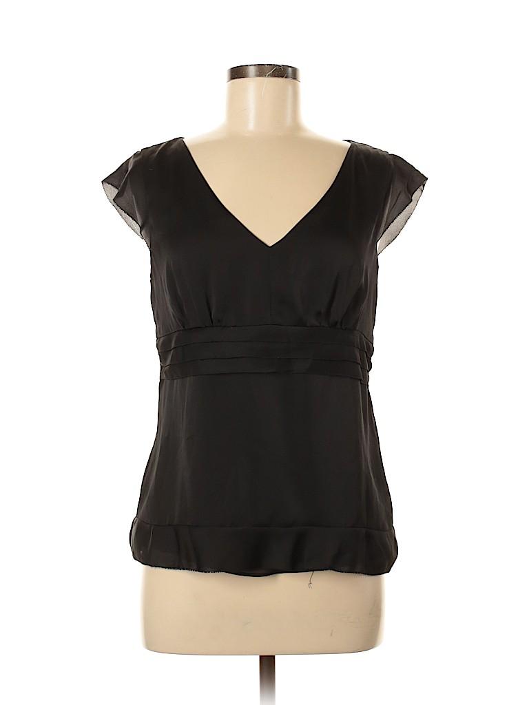 Ann Taylor LOFT Women Short Sleeve Blouse Size 8