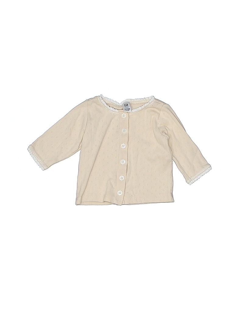 Baby Gap Girls Cardigan Size 0-3 mo