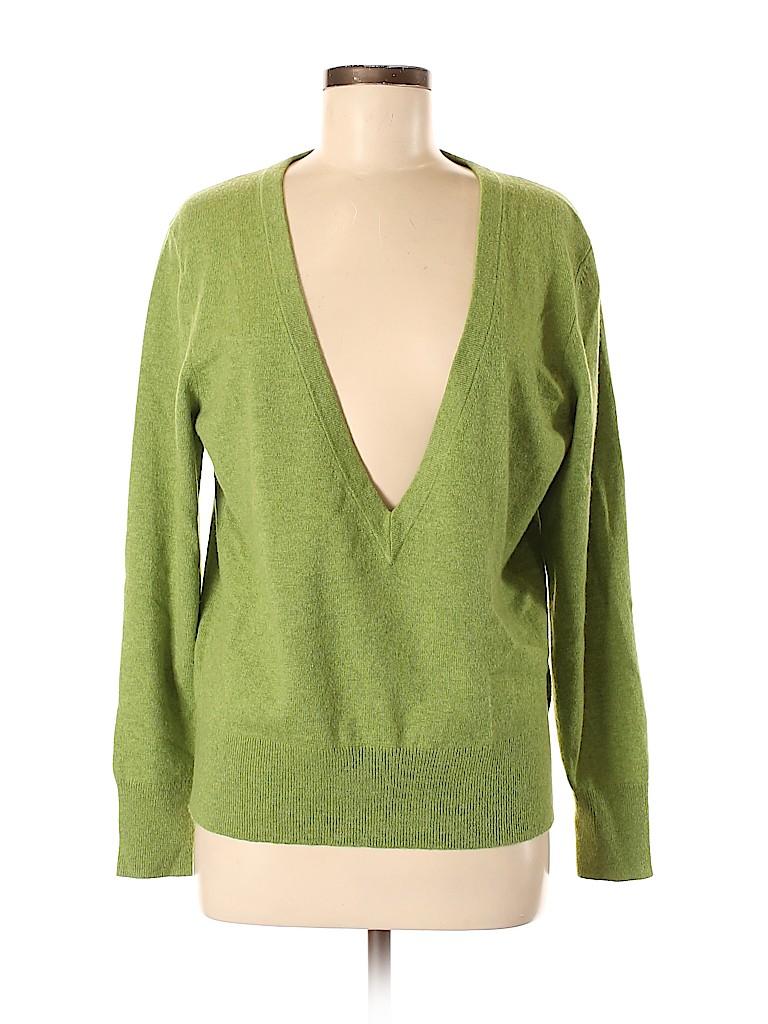 Lafayette 148 New York Women Cashmere Pullover Sweater Size M