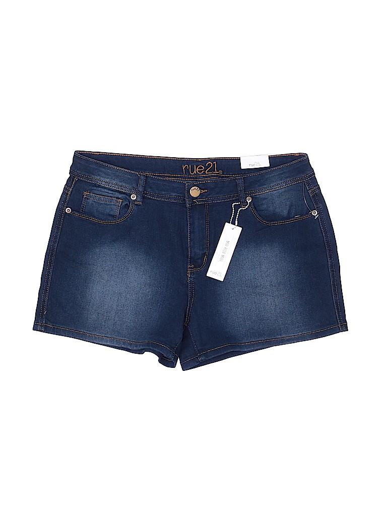 Rue21 Women Denim Shorts Size 13/14