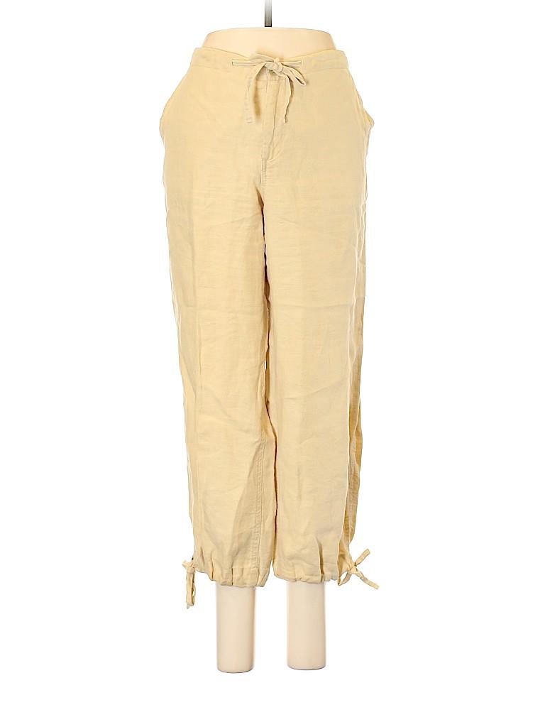 Banana Republic Women Linen Pants Size 10