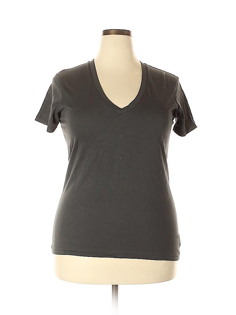 ALTERNATIVE Women Short Sleeve T-Shirt Size 2X (Plus)