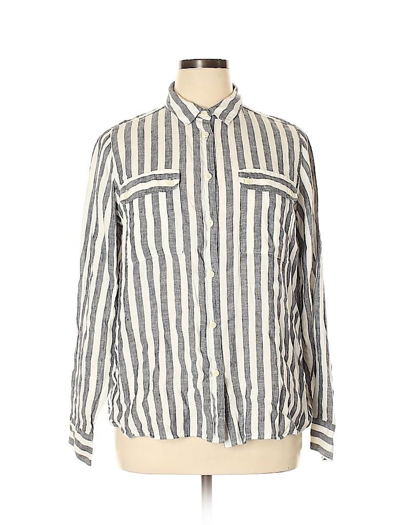 J. Crew Women Long Sleeve Button-Down Shirt Size 16