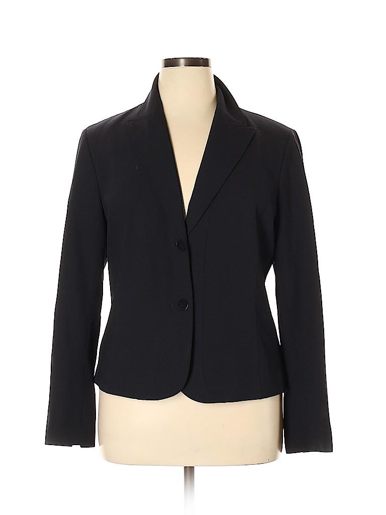 Lafayette 148 New York Women Wool Blazer Size 16