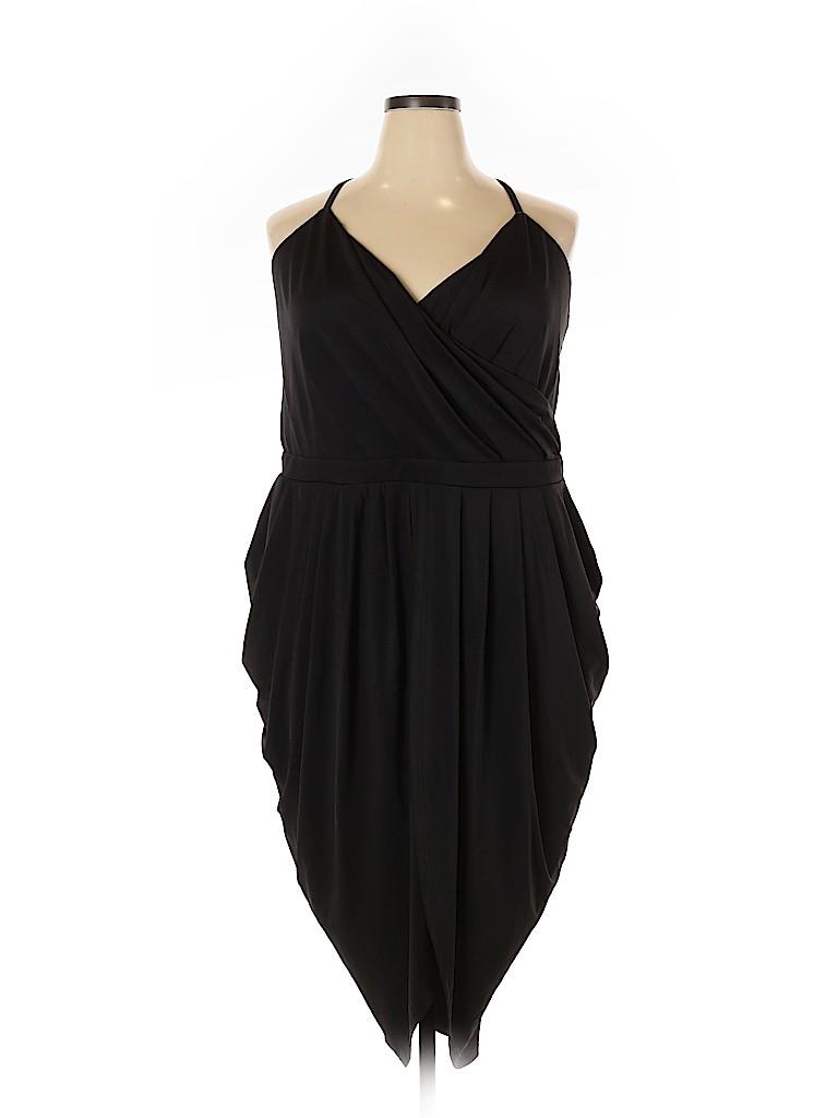 City Chic Women Cocktail Dress Size 24 (Plus)