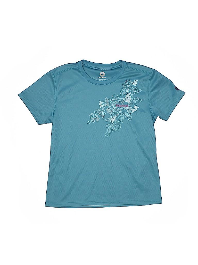 Marmot Girls Active T-Shirt Size M (Youth)