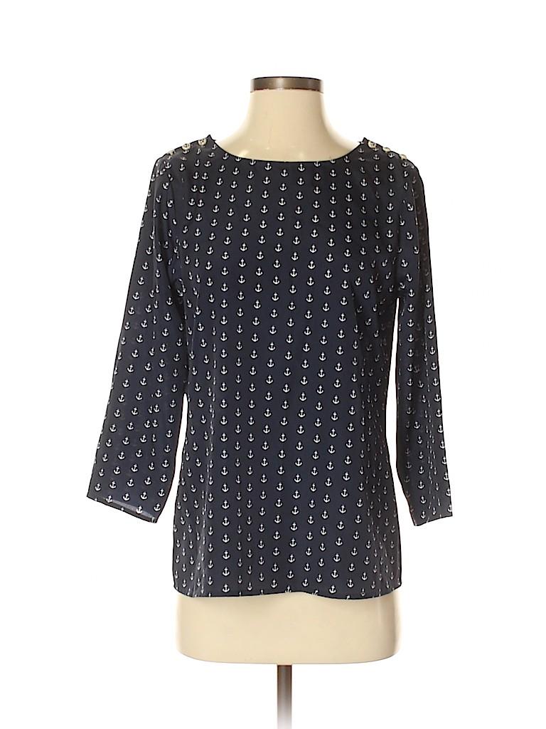 J. Crew Women 3/4 Sleeve Blouse Size S