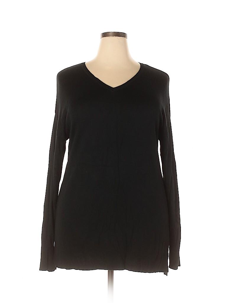 Ava & Viv Women Pullover Sweater Size 2X (Plus)