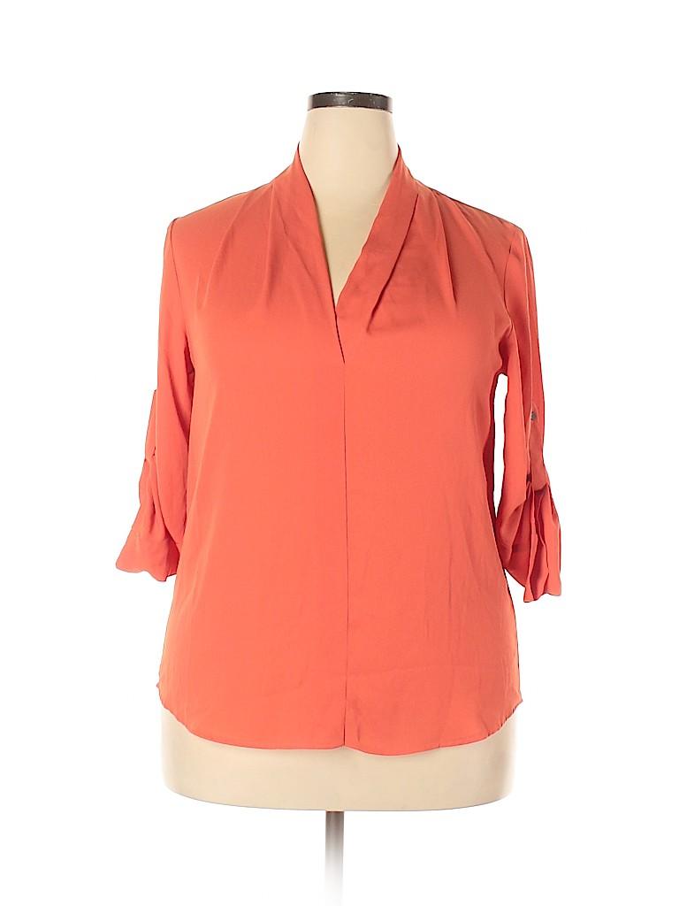 Mossimo Women 3/4 Sleeve Blouse Size XL