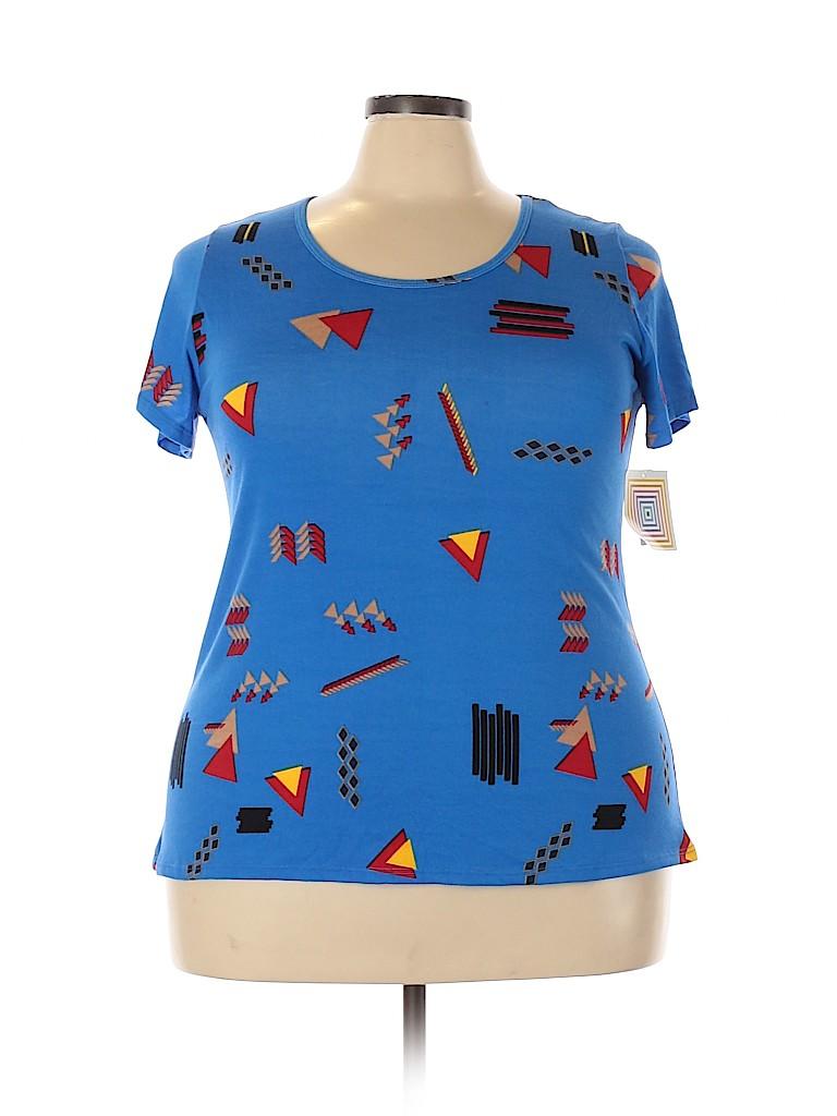 Lularoe Women Short Sleeve T-Shirt Size 2X (Plus)