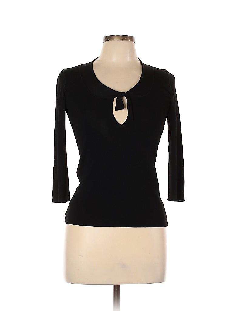 Emporio Armani Women 3/4 Sleeve Top Size 10