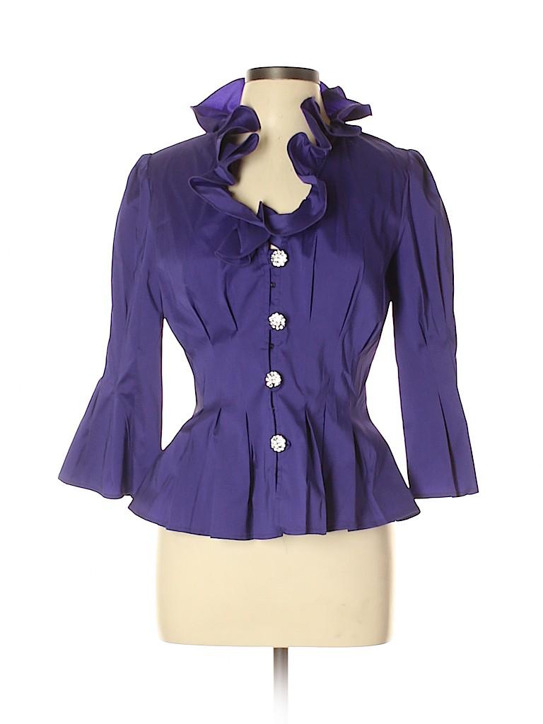 Joseph Ribkoff Women Long Sleeve Blouse Size 12