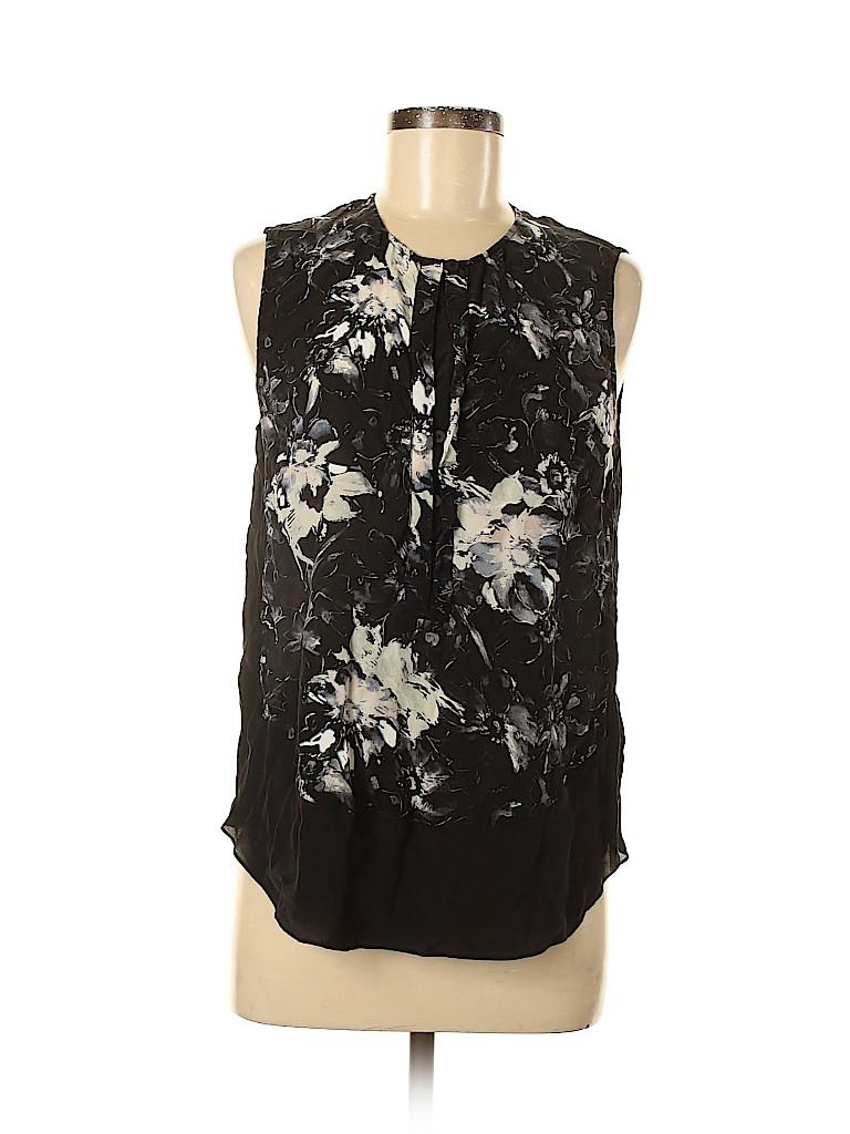 Rebecca Taylor Women Sleeveless Silk Top Size 8