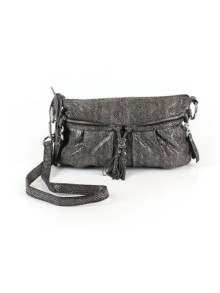 B Makowsky Women Leather Crossbody Bag One Size