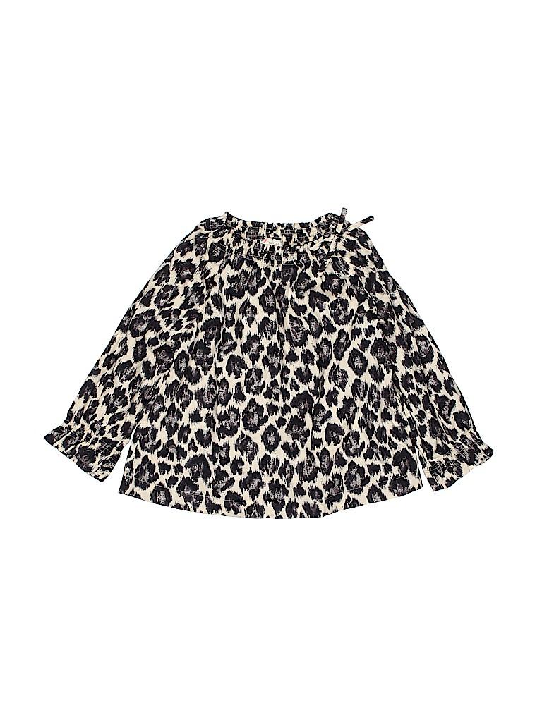 Crewcuts Girls Long Sleeve Blouse Size 7